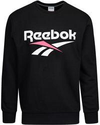 Reebok Logo Crew Shirt - Black