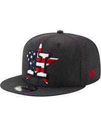 the best attitude b62a3 e7008 KTZ Houston Astros Dark Tropic 9fifty Snapback Cap in Blue for Men - Lyst