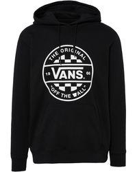 d06b09538 Vans Clubhouse Checker Side Stripe Sweatpants in Black for Men - Lyst