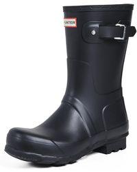 HUNTER Original Short Boots - Black
