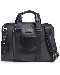 Tumi Alpha Bravo Aviano Slim Briefcase - Black