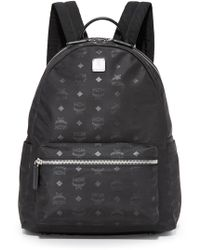 MCM - Dieter Monogram Nylon Backpack - Lyst