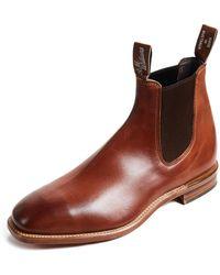 R.M. Williams Flat Heel Boots - Brown