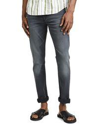 PAIGE Lennox Slim Jeans In Sheldon Wash - Blue