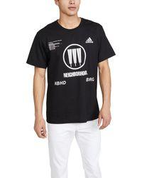 adidas Logo Print T-shirt - Black