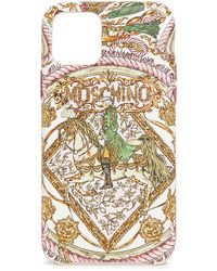 Moschino Print Iphone 11 Pro Case - Pink