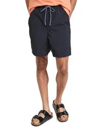 Alex Mill Pull On Shorts - Black