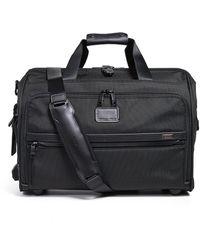 Tumi Alpha Framed Soft Duffle Bag - Black