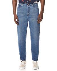 Tom Wood Carrot Denim Jeans - Blue