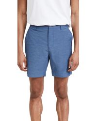 Faherty Belt Loops All-day Shorts - Blue
