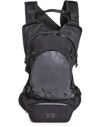 Y-3 Ch1 Reflective Backpack - Black