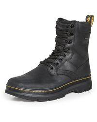 Dr. Martens Iowa Wp 8 Tie Boots - Black