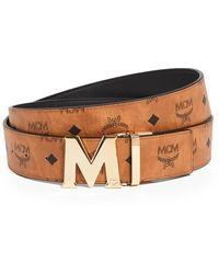 MCM Claus Reversible Belt - Multicolor