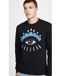KENZO Classic Eye Embroidered Sweatshirt - Black