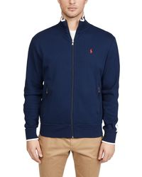 Polo Ralph Lauren Interlock Track Jacket - Blue