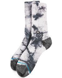 Stance Burnout 2 Crew Socks - Grey