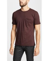Rag & Bone - Owen Stripe Tee - Lyst