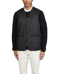 Barbour - Polarquilt Waistcoat / Zip-in Liner - Lyst