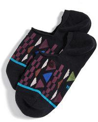Stance Geometric Low Socks - Black