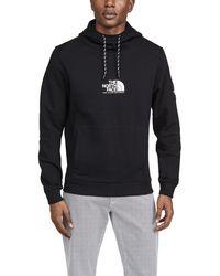 The North Face Logo-print Fleece-back Cotton-jersey Hoodie - Black