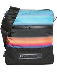 PS by Paul Smith Horizon Flight Bag - Blue