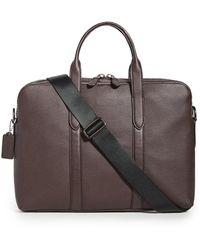 COACH Metropolitan Soft Briefcase - Multicolour