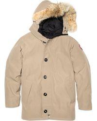 Canada Goose' Men's Fur-Trimmed Chateau Parka-BLACK,BLUE Size XXL