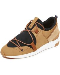 H by Hudson - Brodie Nubuck Trainers - Lyst