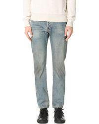 Earnest Sewn - Allen Slim Straight Jeans - Lyst