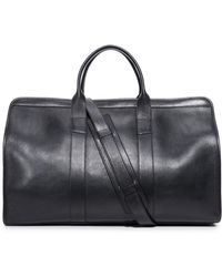 Lotuff Leather - Duffel Travel Bag With Pocket - Lyst