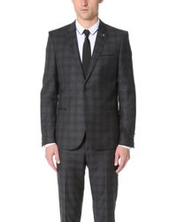 The Kooples - Check Suit Jacket - Lyst