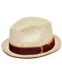 fb76f34704d Paul Smith - Pandan Straw Hat - Lyst