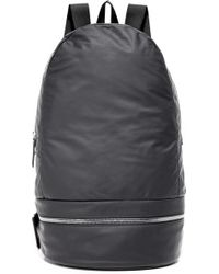 Z Zegna - Popeline Leather Backpack - Lyst