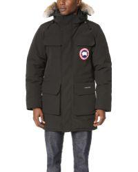 Canada Goose' manitoba black coat