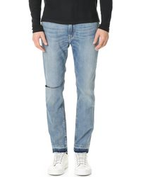 Ovadia And Sons - Os-1 Distressed Jeans - Lyst