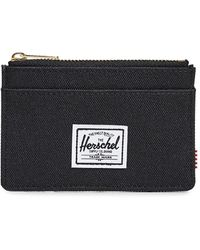 Herschel Supply Co. Oscar Zip Card Case - Black