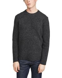 Club Monaco Soft Wool Crew Jumper - Grey