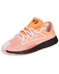 Y-3 Raito Racer Trainers - Pink