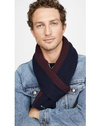 Ted Baker Wootton Colorblock Scarf - Blue