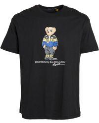 Polo Ralph Lauren Polo Bear Short Sleeve Jersey T-shirt - Black