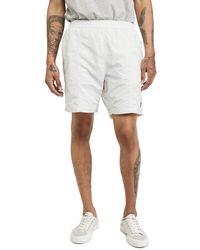 AMI Heart Logo Shorts - White