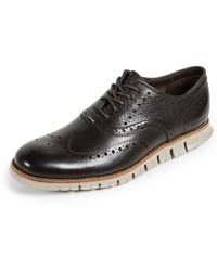 Cole Haan - Zerogrand Wingtip Oxford Shoes - Lyst
