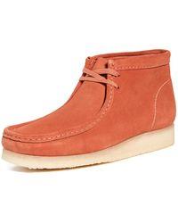 Clarks Wallabee Boot - Orange