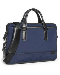 Tumi Harrison Sycamore Slim Briefcase - Blue