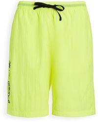 New Balance Sport Style Optiks Windbreaker Shorts - Yellow