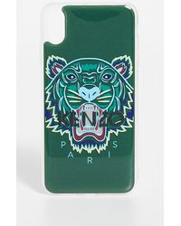 KENZO Iphone Xs Max Tiger Case - Green