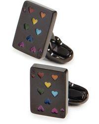 Paul Smith Playing Card Cufflinks - Multicolor