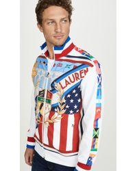 Polo Ralph Lauren Chariots Olympic Crest Track Jacket - Blue