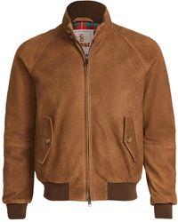 Baracuta Winter Suede G9 Jacket - Brown