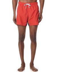 Emporio Armani - Sw Colorblock Swim Shorts - Lyst
